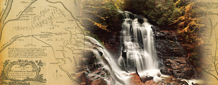 Soco Falls photo in Cherokee Annual Report