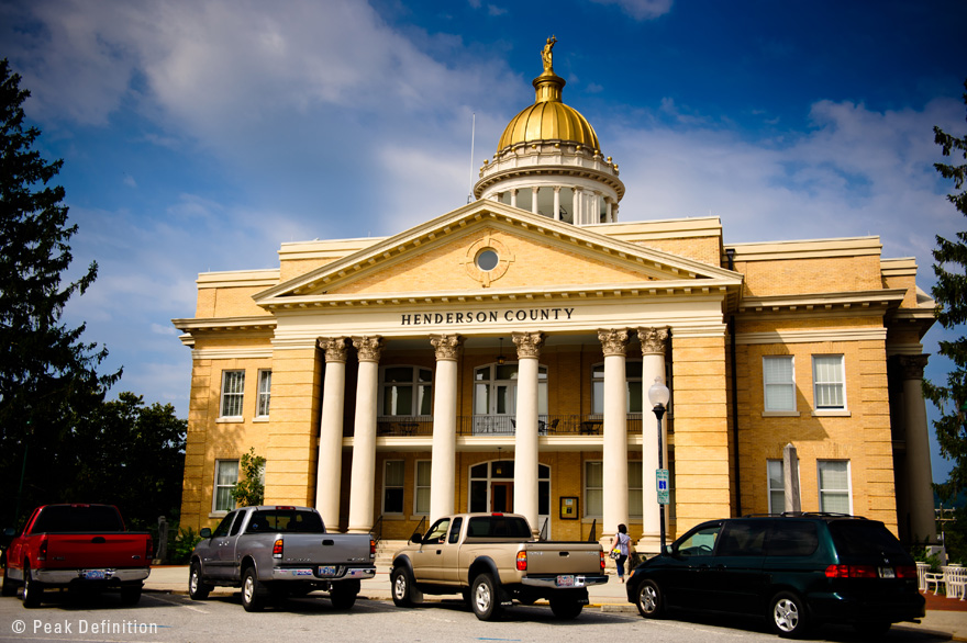 Henderson County's courthouse