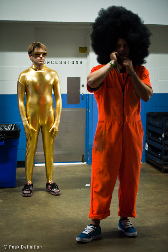 Costumes at MoogFest
